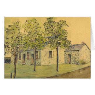 Springfield Church of the Brethren, Note Card