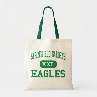 Springfield cultiva un huerto - Eagles - los jardi Bolsa Lienzo