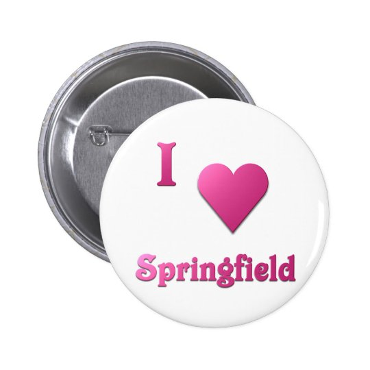 Springfield -- Hot Pink Pinback Button