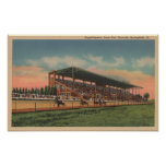 Springfield, IL - State Fair Grounds Horse Print