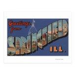 Springfield, Illinois - escenas grandes de la Postales