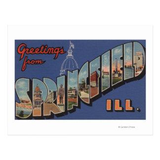 Springfield, Illinois - escenas grandes de la Postal