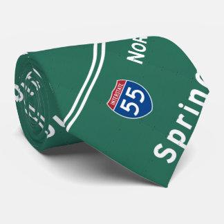 Springfield Illinois Interstate Highway Freeway : Tie