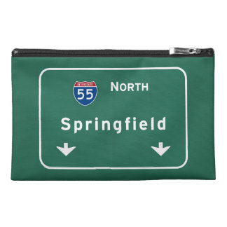 Springfield Illinois Interstate Highway Freeway : Travel Accessories Bags