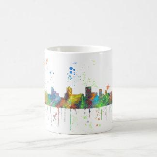 SPRINGFIELD, ILLINOIS SKYLINE COFFEE MUG
