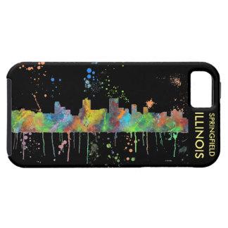SPRINGFIELD, ILLINOIS SKYLINE iPhone SE/5/5s CASE