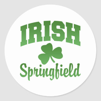 Springfield Irish Sticker