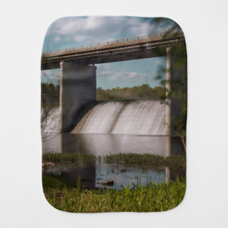 Springfield Lake Dam Baby Burp Cloth