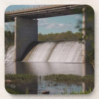 Springfield Lake Dam Beverage Coasters