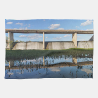 Springfield Lake Missouri Dam Hand Towel