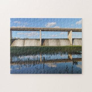 Springfield Lake Missouri Dam Jigsaw Puzzle