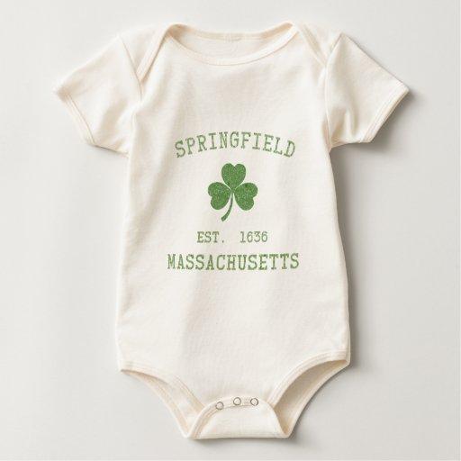 Springfield MA Baby Shirt