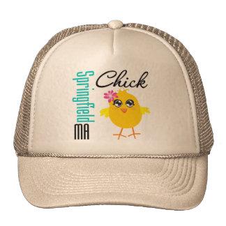 Springfield MA Chick Trucker Hats
