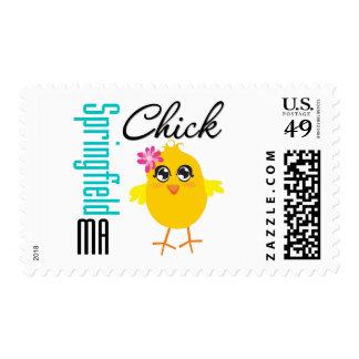 Springfield MA Chick Stamp