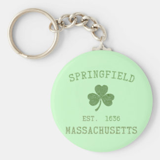 Springfield MA Keychain