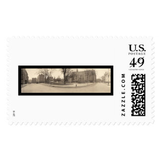 Springfield MA Square Photo 1909 Stamp
