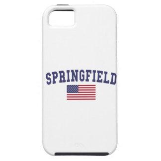 Springfield MA US Flag iPhone SE/5/5s Case