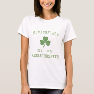 Springfield MA Womens T-Shirt