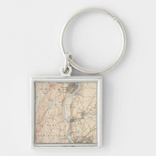 Springfield, Massachusetts Keychain