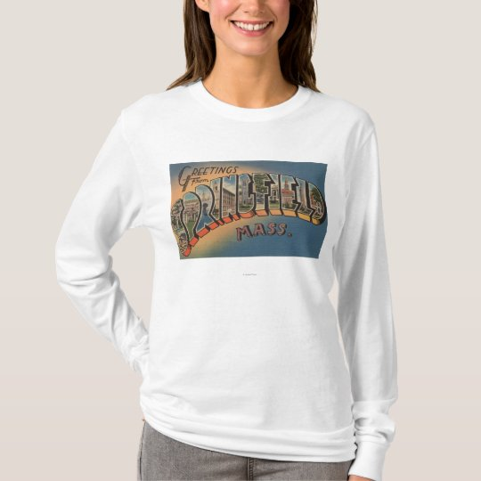 Springfield, Massachusetts - Large Letter 2 T-Shirt