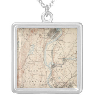 Springfield, Massachusetts Silver Plated Necklace