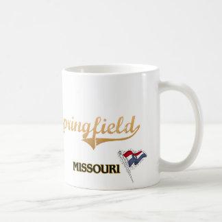 Springfield Missouri City Classic Classic White Coffee Mug