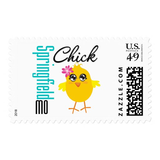 Springfield MO Chick Stamp