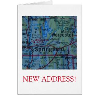 Springfield New Address announcement