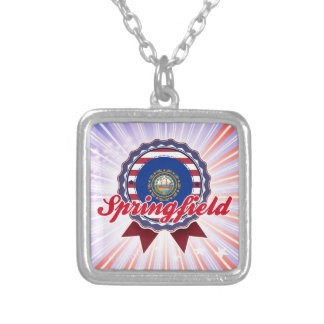 Springfield NH Personalized Necklace