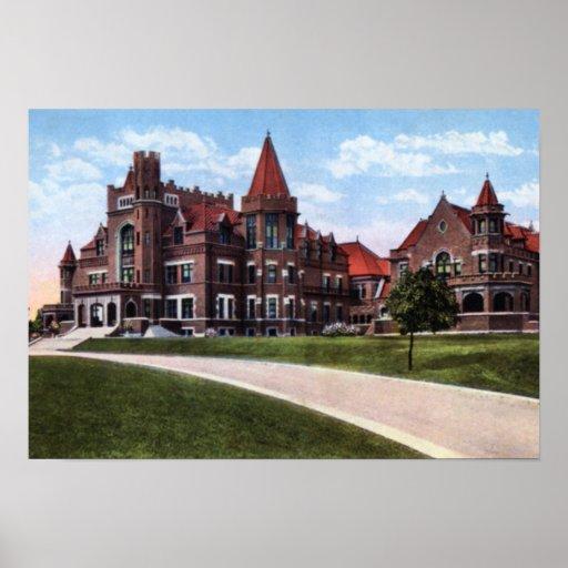 Springfield Ohio Knights of Pythias Print