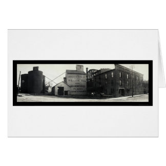 Springfield, Ohio Mills Photo 1908 Card