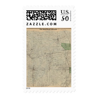 Springfield, Ohio Postage
