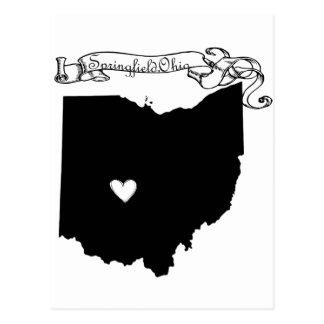 Springfield Ohio Postcard