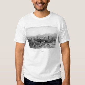 Springfield, OR Town View and Lumber Mills T-shirt