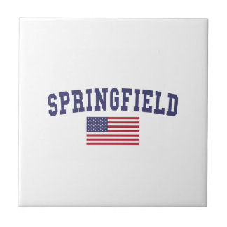 Springfield OR US Flag Tile