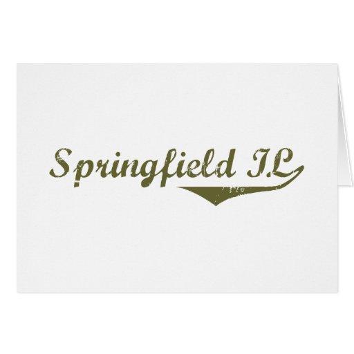 Springfield  Revolution t shirts Greeting Card