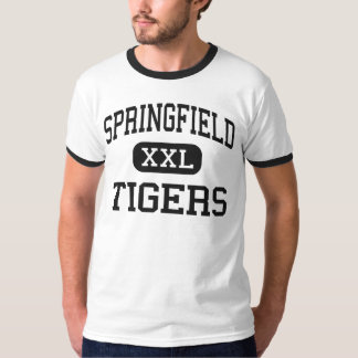 Springfield - Tigers - High - New Middletown Ohio T-shirt