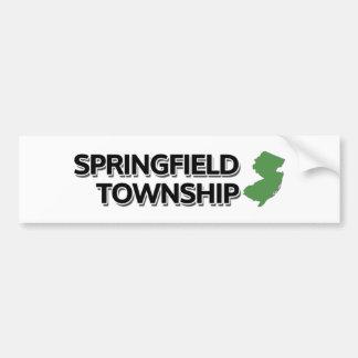 Springfield Township, New Jersey Bumper Sticker