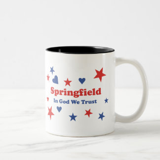 Springfield Two-Tone Coffee Mug