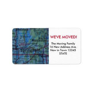 Springfield We've Moved label