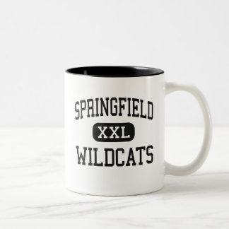 Springfield - Wildcats - Junior - Bergholz Ohio Two-Tone Coffee Mug