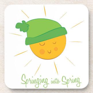 Springing into Spring Drink Coaster