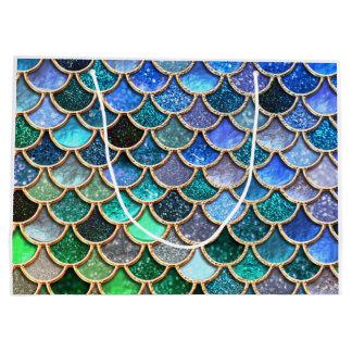 Mermaid Scales Gift Bags | Zazzle