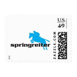Springreiter - Showjumper Postage