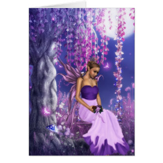 Spring's Fairy Bride Greeting Card