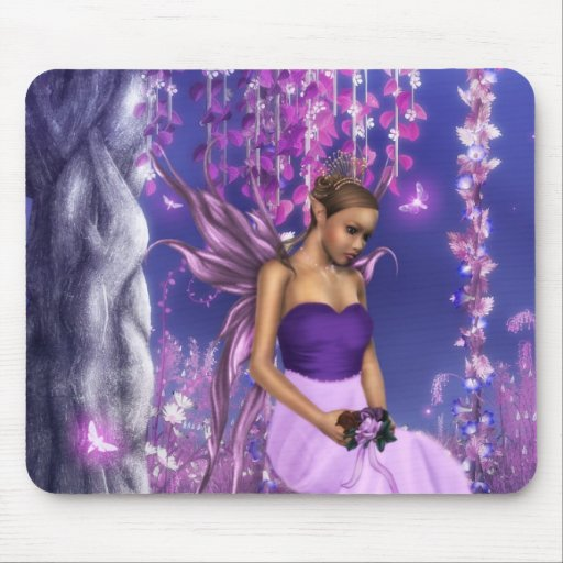 Spring's Fairy Bride Mouse Pad