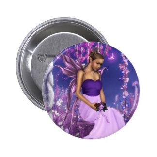 Spring's Fairy Bride Pinback Buttons