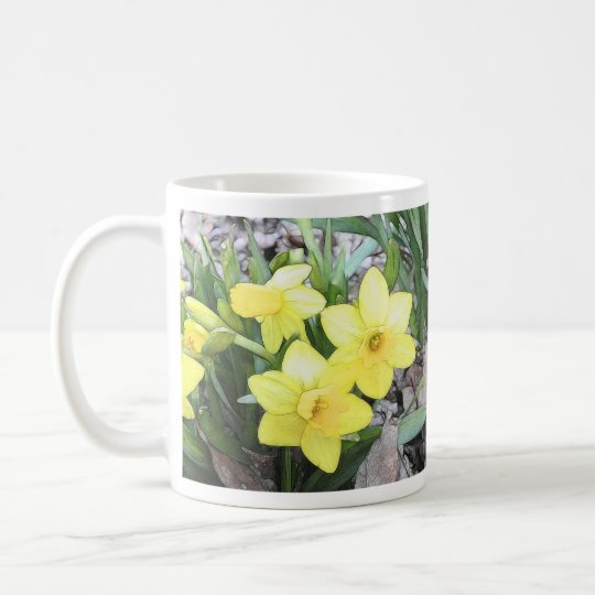 Spring's First Daffodils Coffee Mug