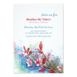 Spring's Glory Invitation