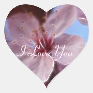 Springs Softness Heart Sticker